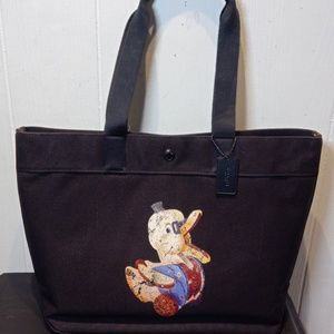 COACH Ltd Edit. Fisher Price Doodle Duck Lg.Tote